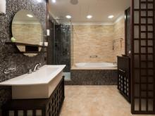 Квартира «Реновация семейного очага», ванная . Фото № 30452, автор Серов Егор
