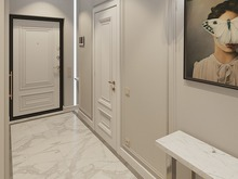 Квартира «Простые истины», прихожая . Фото № 30460, автор Дюжева Вероника