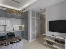 Квартира «Простые истины», гостиная . Фото № 30458, автор Дюжева Вероника