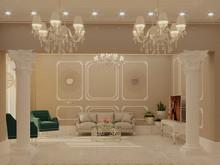 Квартира «Beverly Hills», гостиная . Фото № 30461, автор Остроухова Татьяна