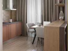 Квартира «Однокомнатная квартира», кухня . Фото № 30466, автор Сапрыкина Светлана