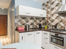 Квартира «Уют для мамы», кухня . Фото № 30475, автор Стрелец Мария
