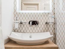 Квартира «Уют для мамы», ванная . Фото № 30473, автор Стрелец Мария