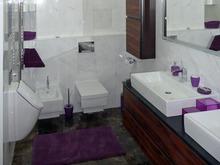 Квартира «Квартира для молодой пары», ванная . Фото № 30491, автор Шарапова Анастасия