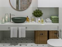 Квартира «ЛЕГКОЕ ВООБРАЖЕНИЕ», ванная . Фото № 30501, автор Алёны Чекалиной Дизайн студия