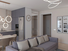 Квартира «Квартира в современном стиле», гостиная . Фото № 30505, автор Сапрыкина Светлана