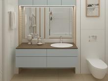 Квартира «Квартира в современном стиле», ванная . Фото № 30509, автор Сапрыкина Светлана
