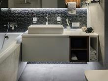 Квартира «RUSFLAT», ванная . Фото № 30545, автор ART-UGOL Design, Котельников Илья