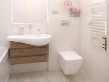Квартира «Неокапучино », ванная . Фото № 30559, автор Барискина Юлия