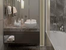 Квартира «Небольшая квартира с лоджией», ванная . Фото № 30562, автор Сапрыкина Светлана