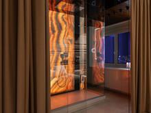Квартира «Квартира в Екатеринбурге. ЖК Крыловъ», ванная . Фото № 30568, автор Ханин Дмитрий
