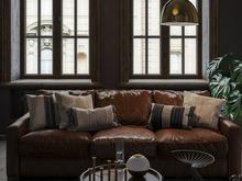 Квартира «Черный интерьер для холостяка в Санкт-Петербурге, 75 м²», гостиная . Фото № 30572, автор MOSSEBO Студия