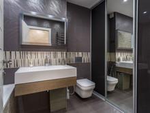Квартира «Квартира ЖК Велтон парк», ванная . Фото № 30588, автор Бахметьев Олег