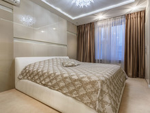 Квартира «Квартира ЖК Велтон парк», спальня . Фото № 30585, автор Бахметьев Олег