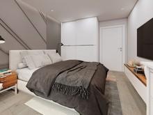 Квартира «ЖК летний сад», спальня . Фото № 30589, автор Григорьева Анастасия