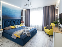 Квартира «Арт сити», спальня . Фото № 30629, автор Черных Елена