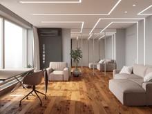 Квартира «Квартира нестандартной планировки в современном стиле », гостиная . Фото № 30651, автор Сапрыкина Светлана