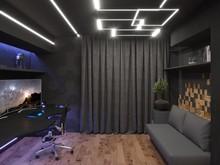 Квартира «Квартира нестандартной планировки в современном стиле », кабинет . Фото № 30645, автор Сапрыкина Светлана