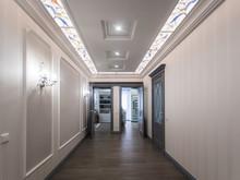Квартира «Классика в голубых тонах», коридор . Фото № 30683, автор Кострюкова Ирина