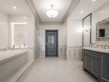 Квартира «Классика в голубых тонах», ванная . Фото № 30686, автор Кострюкова Ирина