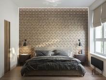 Квартира «ЖК Сити Парк», спальня . Фото № 30736, автор Лях Анна
