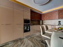 Квартира «Квартира в ЖК Московский квартал», кухня . Фото № 30743, автор Волкова Надежда