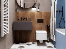 Квартира «Сочный лофт», ванная . Фото № 30749, автор Коломенцева Анастасия