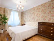 Квартира «Викторианский сад», спальня . Фото № 30763, автор Волкова Надежда