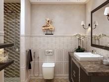 Квартира «50 оттенков серого», ванная . Фото № 30775, автор Юрийчук Оксана