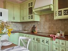 Квартира «Солнечный Прованс (реализованный проект)», кухня . Фото № 30781, автор Ивлиева Евгения