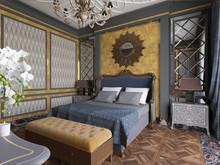 Квартира «Итальянский квартал», спальня . Фото № 30789, автор Каспарян Анастасия