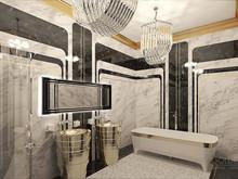 Квартира «Итальянский квартал», ванная . Фото № 30790, автор Каспарян Анастасия