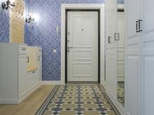 Квартира «Квартира в синих тонах», коридор . Фото № 30843, автор Efimovykh Elena
