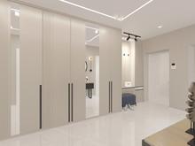 Квартира «Изящная графичность», прихожая . Фото № 30849, автор Карпова Ольга