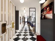 Квартира «Шахматная перспектива», прихожая . Фото № 30861, автор Амирагян Светлана