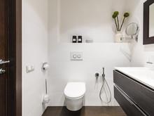 Квартира ««Elegance»», ванная . Фото № 30939, автор Wide Design Group