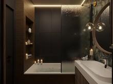 Квартира «Bright Walls», ванная . Фото № 30973, автор Линникова Елена