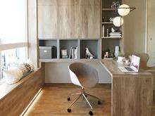 Квартира «Игра контрастов», кабинет . Фото № 30982, автор TerraDiz студия дизайна