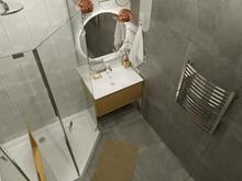 Квартира «Игра контрастов», ванная . Фото № 30983, автор TerraDiz студия дизайна