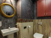 Квартира «Квартира для молодой семьи», санузел . Фото № 30990, автор TerraDiz студия дизайна