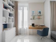 Квартира «Апартамент в клубном доме», кабинет . Фото № 31030, автор Константинова Евгения