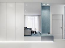 Квартира «АПАРТАМЕНТЫ SKY», холл . Фото № 31055, автор Suiten n. Seven