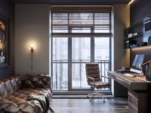 Квартира «АПАРТАМЕНТЫ SKY», кабинет . Фото № 31056, автор Suiten n. Seven