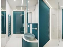 Квартира «АПАРТАМЕНТЫ SKY», ванная . Фото № 31058, автор Suiten n. Seven