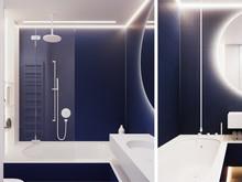Квартира «АПАРТАМЕНТЫ SKY», ванная . Фото № 31054, автор Suiten n. Seven