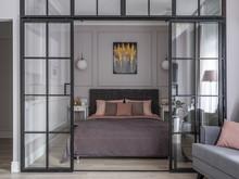 Квартира «ЖК Im», спальня . Фото № 31066, автор Ляйфер Наталья