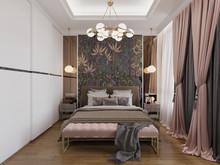 Квартира ««Красное золото» Персии на невских берегах», спальня . Фото № 31071, автор EMD interior design