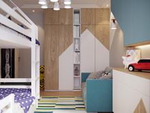 Квартира «Квартира на Юго-Западе Москвы», детская . Фото № 31085, автор Кисса Тимофей