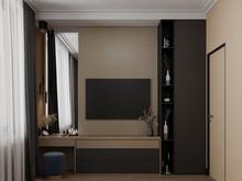 Квартира «ЖК Сильвер», спальня . Фото № 31089, автор Жуков Алексей