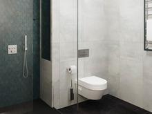 Квартира «ЖК Сильвер», ванная . Фото № 31092, автор Жуков Алексей